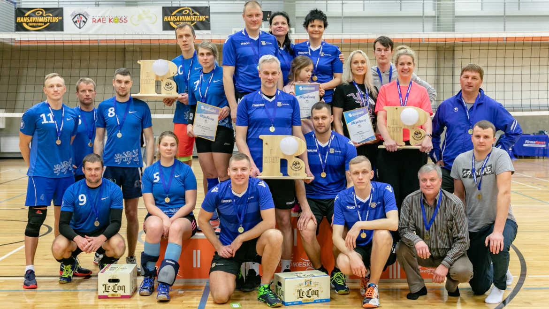 Riigiasutuste võrkpalliturniiri võitis Eesti Kaitsevägi