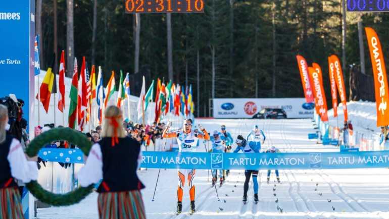 Parima rahvasportlase arvestus sai punktilisa Tartu Maratonil