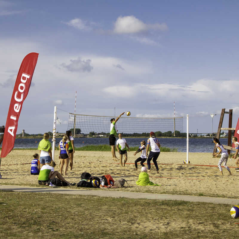 Suvespartakiaad 2019 - FIFAA rannavõrkpall, 09.08.2019. a. Haapsalu, foto: Kaimo Puniste