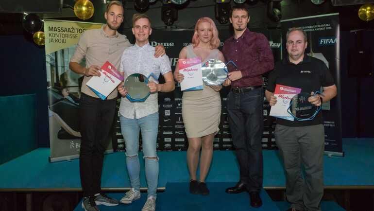 Eesti osavaimad IT-ettevõtted selgusid nooleviskega