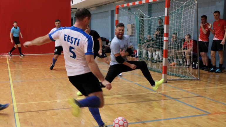 Riigiasutuse sarja saalijalgpalli võitja otsustati penaltitega!