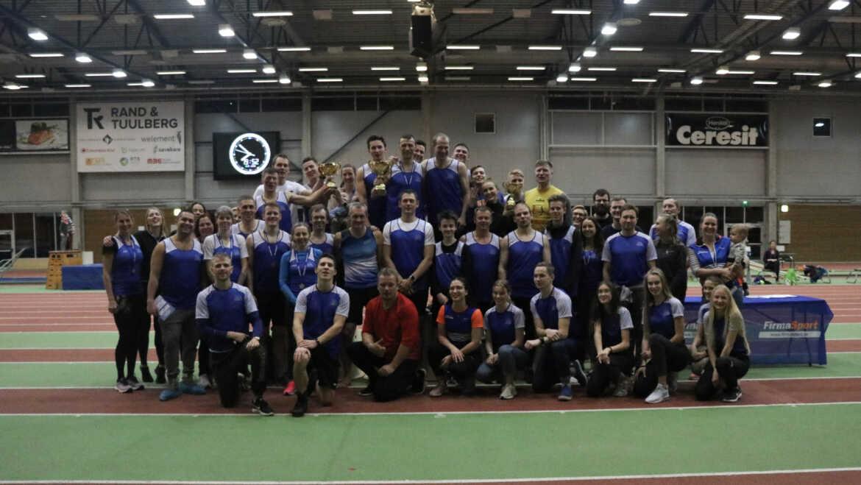 Möödunud nädalavahetusel toimus Tartu Ülikooli Spordihoones Eesti Firmaspordi Liidu juubeliaasta esimene üritus!