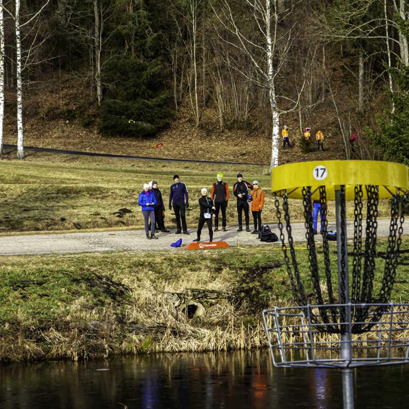 Talispartakiaad 2020 - Discgolf, 06.03.2020. a. @Otepää, foto: Kaimo Puniste