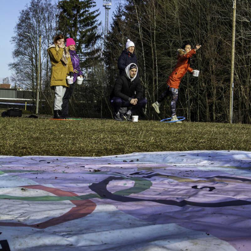 Talispartakiaad 2020 - Käärling, 08.03.2020. a. @Otepää, foto: Kaimo Puniste