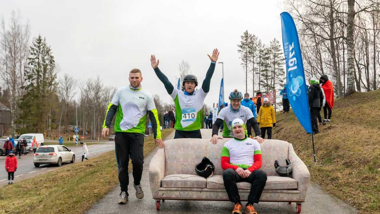 Meeleolukas nädalavahetus Lõuna-Eestis koos parimate firmasportlastega