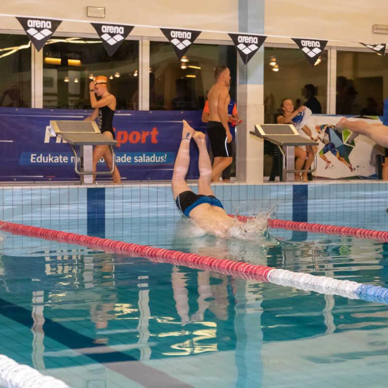 Firmaspordi Sügisspartakiaad 2020, ujumine / foto: Ardo Säks